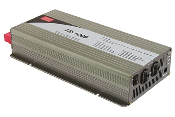 Product image for Power Inverter,Pure Sine Wave,48V,1000W