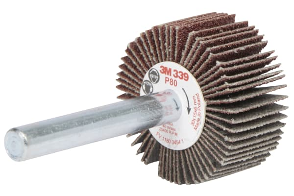 Product image for Abrasive flap wheel  30x15x6mm P80