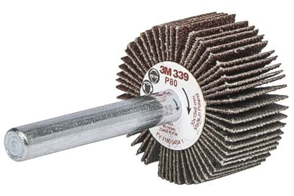 Product image for Abrasive flap wheel  50x20x6mm P80