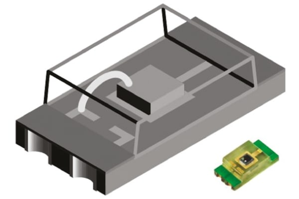 Product image for AMBIENT LIGHT SENSOR 570NM SMD3