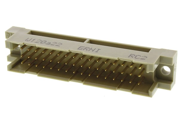 Product image for DIN41612 MALE 2.54MM TYPE R/2 48 WAY