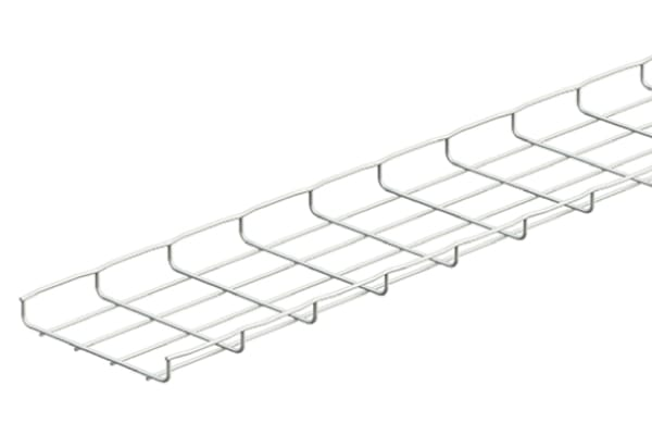 Product image for CABLE BASKET TRAY STAINLESS 304 100X30MM