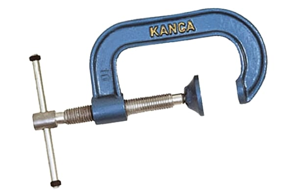 Product image for Heavy Duty G Clamp 100 mm