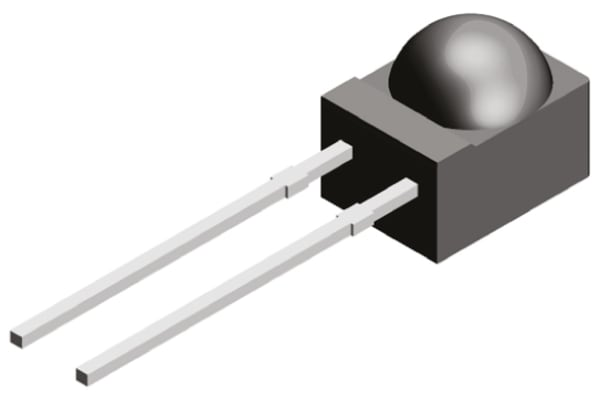Product image for PIN Photodiode 950nm Filtered Side View