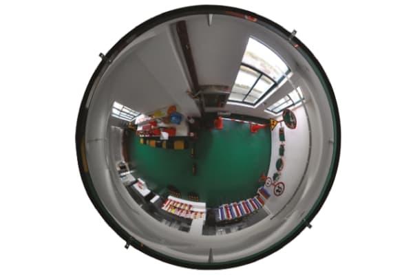 Product image for Hemispherical Acrylic Mirror Dia 90 cm