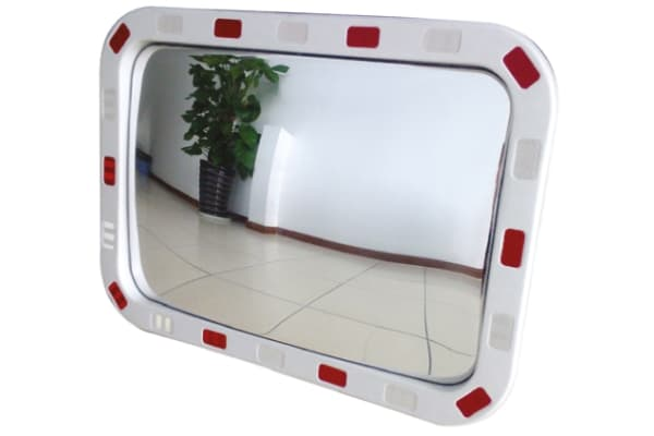Product image for Rectangular Traffic Mirror 60 x 40 cm