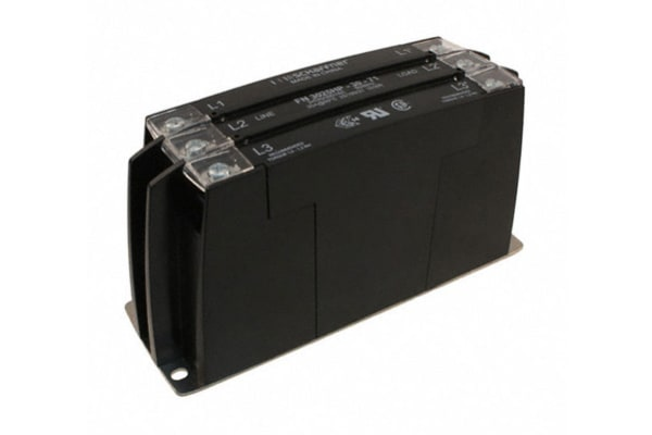 Product image for 3 PHASE LOW LEAKAGE EMC RFI FILTER 30A