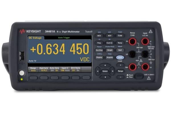 Product image for Keysight Technologies Truevolt 34461A Bench Digital Multimeter