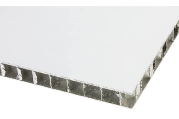 Product image for Alucore sheet 10mm, 600mm square