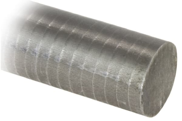 Product image for Cast iron rod 25mm, 1m length