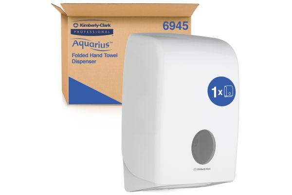Product image for AQUARIUS INTERFOLDED  TOWEL DISPENSER