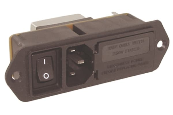 Product image for MODULE,POWERENTRY,PEM,FILTERED,5AMP
