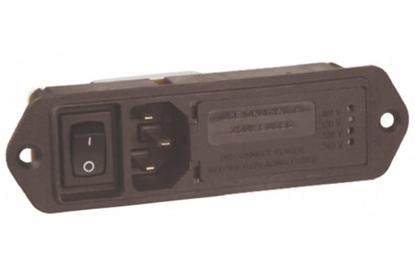 Product image for MODULE,POWERENTRY,4A,250VAC,50/60HZ