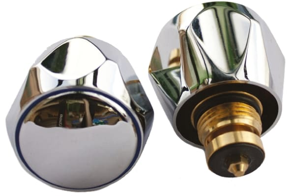 Product image for GLOBO Chome Plated Metal Tap Tops