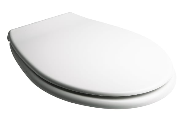 Product image for White RS PRO PP Toilet Seat