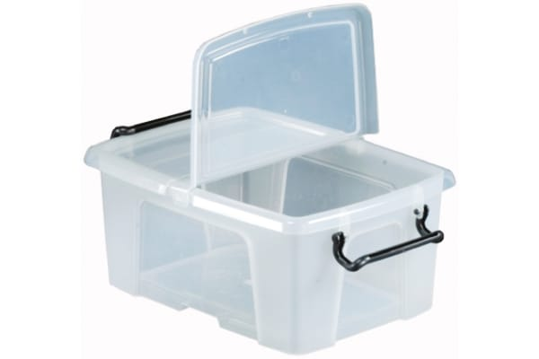 Product image for 12 LITRE CONTAINER WITH HINGED LID