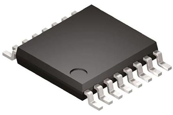 Product image for 60V CURRENT-MODE CONTROLLER TSSOP16EP
