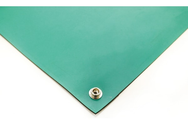 Product image for Green Conductive Rubber Mat 1.2x0.6mx2mm
