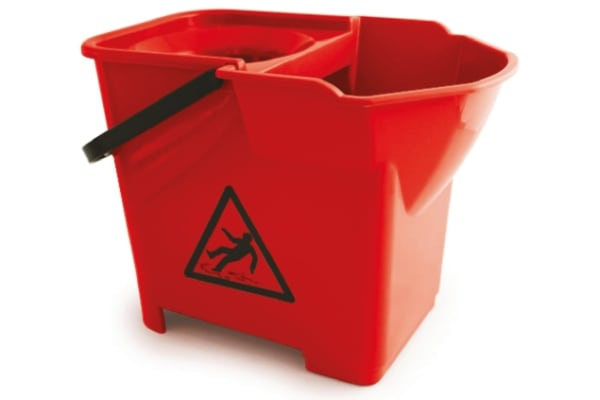Product image for Red 14 Litre Heavy Duty Mop Bucket