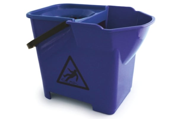 Product image for Blue 14 Litre Heavy Duty Mop Bucket