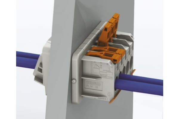 Product image for PLW FEED-THROUGH TERMINAL BLOCK 4 WAY