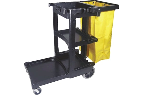 Product image for JANITOR CART WITH BAG