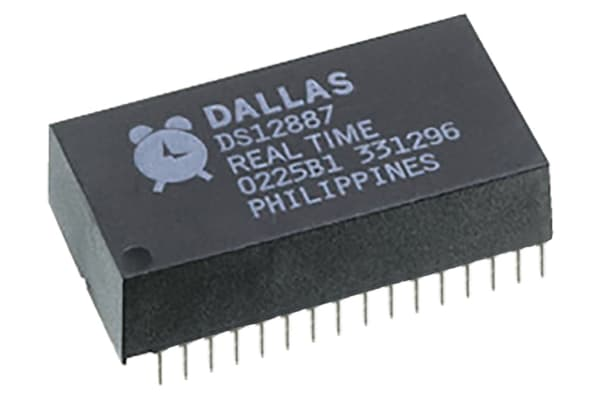 Product image for DS1556-70+, REAL TIME CLOCKS