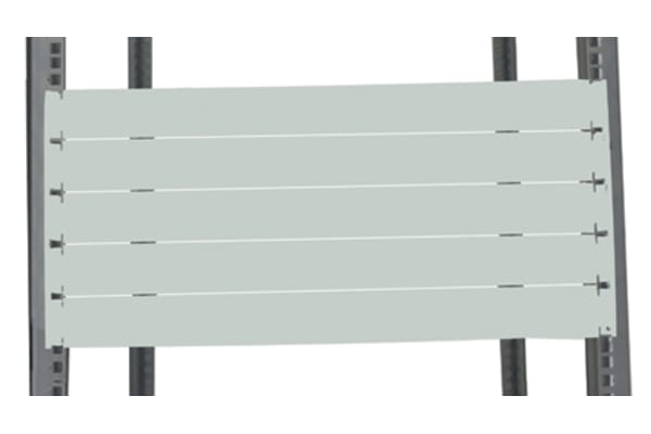 """Product image for Steel 3U Blanking panel 19"""", RAL7035"""