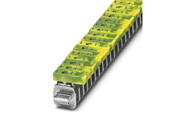 Product image for Connection Terminal Block, 41 A, Green