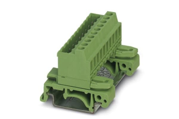 Product image for DIN rail terminal block,NS32, 5.08mm,16w