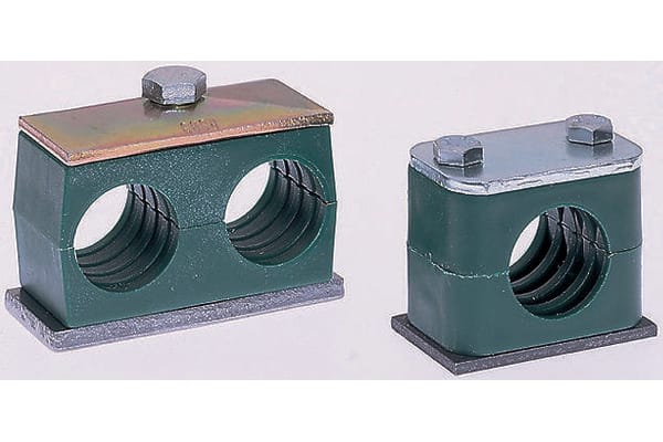 Product image for Hydraulic single tube clamp,18mm OD tube