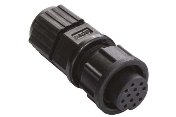 Product image for Standard,12 way,cable receptacle,sockets