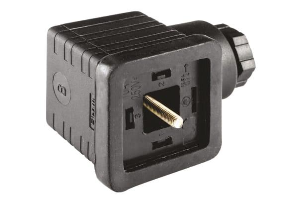 Product image for Socket PG11 2 Pole + Earthing-Black