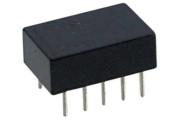 Product image for Relay,Latching,DPDT-NO/NC,0.5AC,24DC,PCB