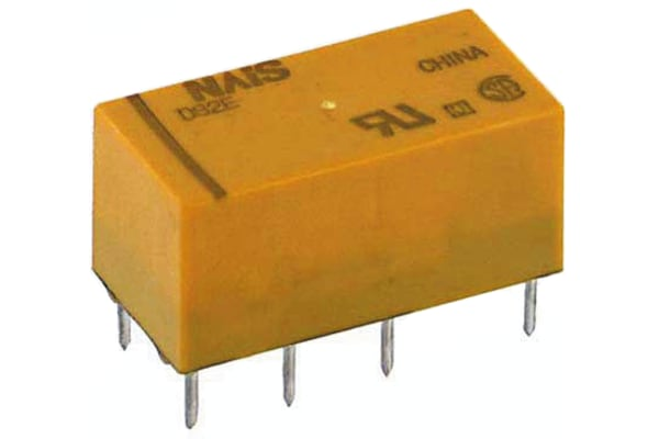 Product image for Relay,Latching,DPDT-NO/NC,24VDC,30DC,PCB
