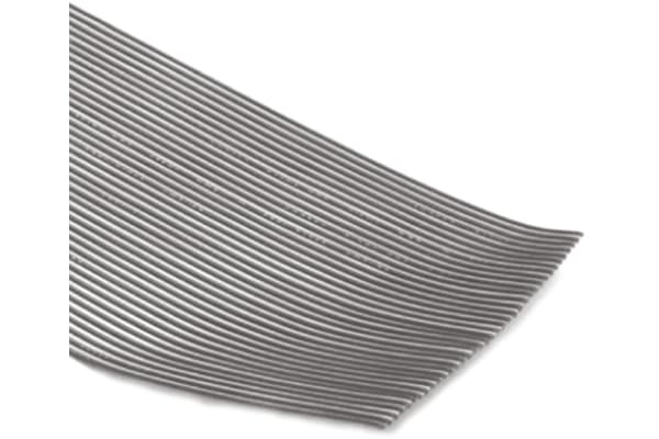 Product image for 10 WAY PVC 2.54MM RIBBON CABLE 30M