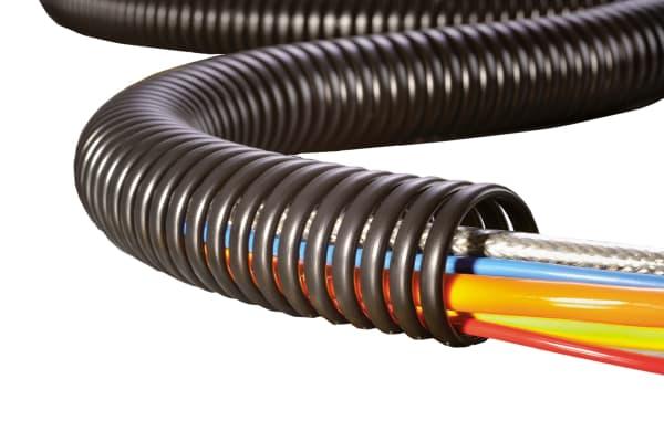 Product image for Spiralschlauch schwarz 1 Meter SPS15