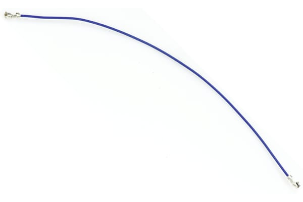 Product image for XH DOUBLE ENDED WIRE + CONTACTS-150MM