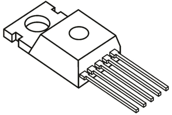 Product image for 12A Low-Side MOSFET Driver TO220-5