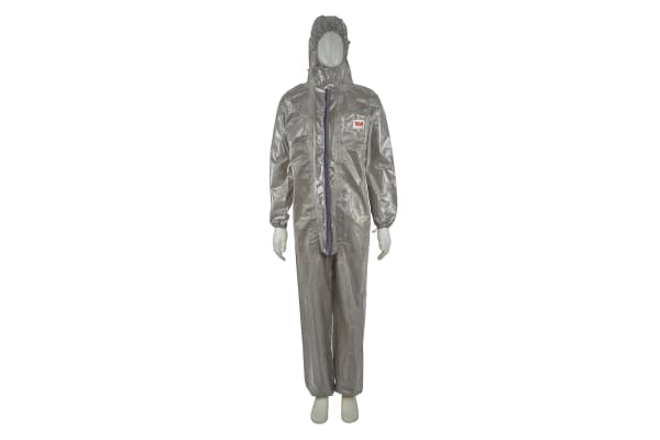 Product image for 4570 Protective Coverall, Grey, L
