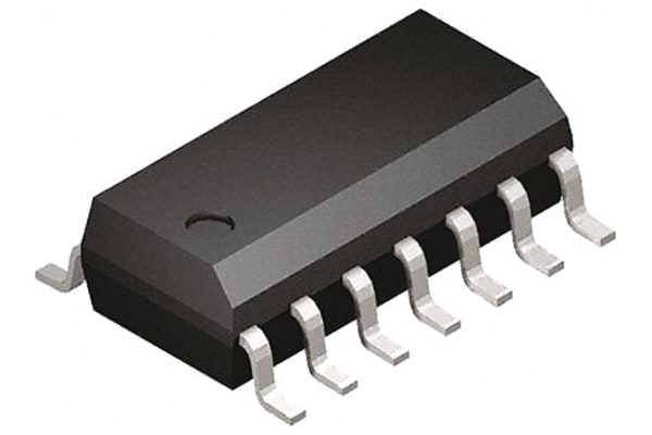 Product image for Advanced MOSFET Driver 1.5A /2.3A SOIC14