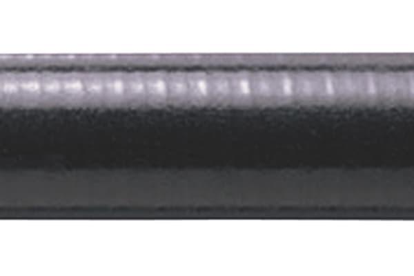 Product image for Adaptaflex SPLHC Thermoplastic Rubber Extreme Temperature Coated Galvanised Steel Liquid Tight Conduit Black 20mm x 25m
