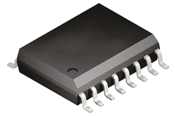 Product image for High and Low Side Driver 500V SOIC16W