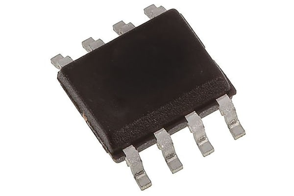 Product image for Dual N-Channel MOSFET, 3 A, 50 V, 8-Pin SOIC Infineon IRF7103TRPBF