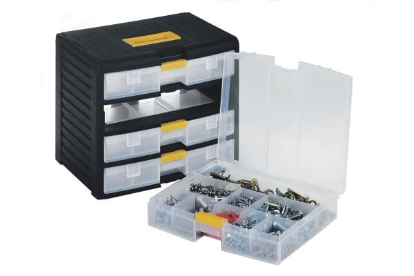 Product image for 4 Draws with Wheels - 39,1x29x33,4 cm