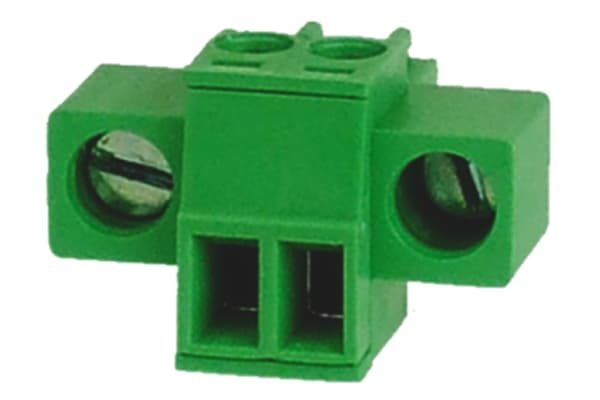 Product image for 3.5mm Plug with Flange 8A 2 Way