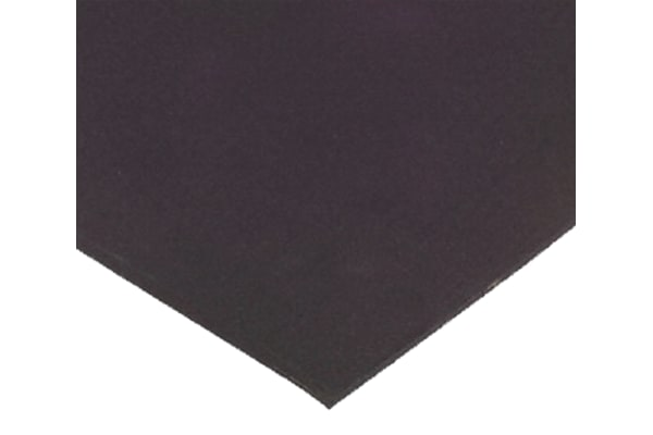 Product image for Black Natural Rubber Sheet, 1000x600x3mm