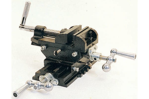 Product image for Cross vice,96mm jaw opening 102mm W