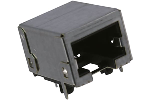 Product image for Modular Jack RJ45 8/8 RA Cat5-7 Shield