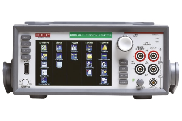 Product image for Keithley DMM7510 Bench Digital Multimeter